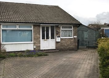 Thumbnail 2 bedroom semi-detached bungalow for sale in Cheviot Close, Huntington, York