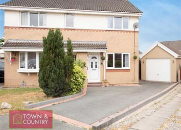 Thumbnail 2 bed semi-detached house for sale in Monet Close, Connahs Quay, Deeside, Flintshire
