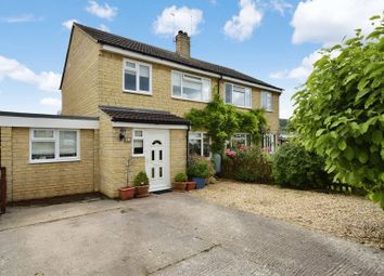 Thumbnail 3 bed semi-detached house for sale in Crossfields, Nether Compton, Sherborne