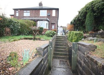 Thumbnail 2 bed semi-detached house to rent in Mow Cop Road, Mow Cop, Stoke-On-Trent