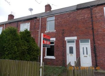 Thumbnail 2 bed terraced house to rent in Monkseaton Terrace., Ashington