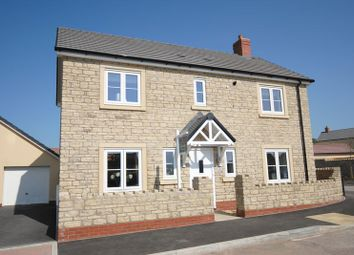 Thumbnail 4 bed detached house for sale in Maple Road, Curry Rivel, Langport
