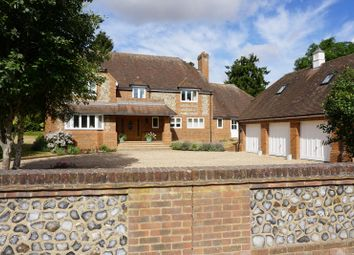 Thumbnail 4 bed detached house for sale in Hurstbourne Priors, Whitchurch, Hampshire