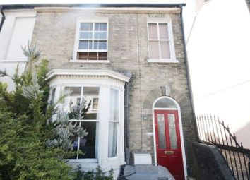 Thumbnail 3 bed end terrace house for sale in Sandringham Road, Norwich
