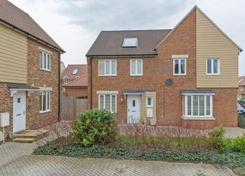 Thumbnail 3 bed semi-detached house for sale in Swallow Avenue, Iwade, Sittingbourne