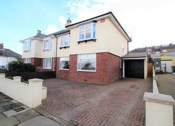 Thumbnail 3 bedroom semi-detached house for sale in Greatfield Road, Plymouth
