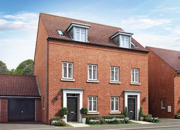 "Thumbnail 3 bedroom terraced house for sale in ""Greenwood"" at Carters Lane, Kiln Farm, Milton Keynes"
