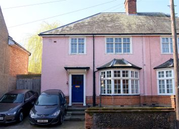 Thumbnail 4 bedroom semi-detached house for sale in Southgate Street, Bury St. Edmunds