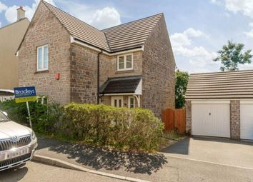 Thumbnail 4 bed detached house for sale in Meadow Drive, Pillmere, Saltash, Cornwall