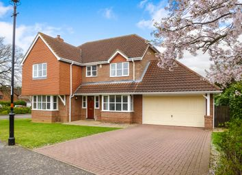 Thumbnail 5 bedroom detached house for sale in Windingbrook Lane, Collingtree Park, Northampton