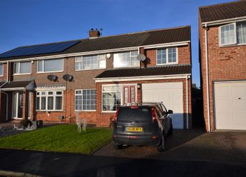 Thumbnail 4 bed semi-detached house to rent in Lancashire Drive, Belmont, Durham