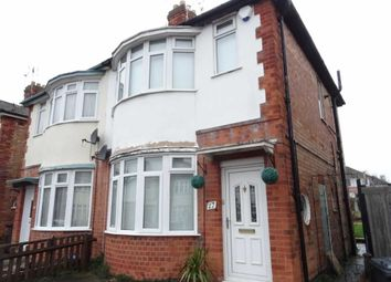 Thumbnail 2 bed semi-detached house to rent in Cranfield Road, Leicester