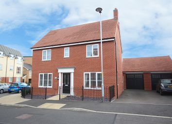Thumbnail 3 bedroom detached house for sale in Maxwell Crescent, Northampton, Northamptonshire.