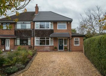 Thumbnail 3 bed semi-detached house for sale in Heyes Avenue, Timperley, Altrincham