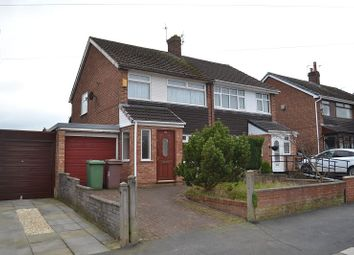 Thumbnail 3 bed semi-detached house to rent in Sherdley Park Drive, Sutton, St. Helens WA9.