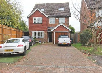 Thumbnail 6 bedroom detached house for sale in Garden Place, Wilmington, Dartford, Kent