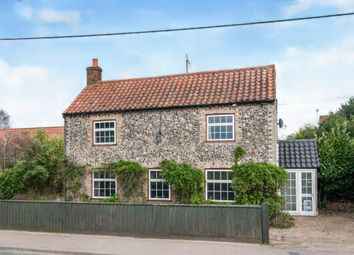 Thumbnail 3 bed detached house for sale in Eriswell Road, Lakenheath, Brandon
