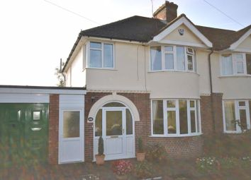 Thumbnail 3 bed semi-detached house for sale in Plumstead Road East, Norwich