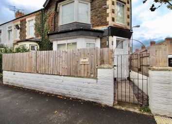 Thumbnail 1 bedroom flat for sale in Paget Street, Cardiff
