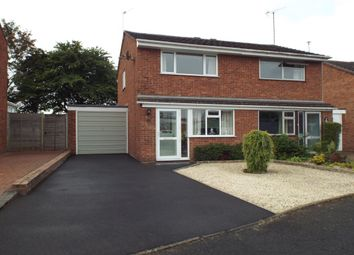 Thumbnail 2 bed semi-detached house for sale in Donney Brook, Evesham