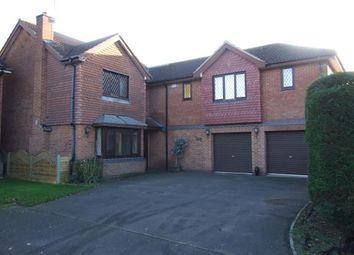 Thumbnail 5 bed detached house for sale in Swallows Drive, Stathern, Melton Mowbray, Leicestershire