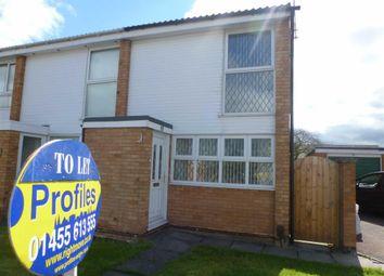 Thumbnail 2 bed town house to rent in Jersey Way, Barwell, Leicester