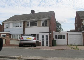 Thumbnail 3 bed semi-detached house to rent in Chadwell Avenue, Southampton