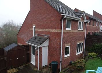 Thumbnail 1 bed end terrace house to rent in Whitycombe Way, Exeter