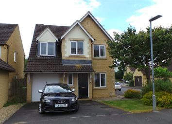 Thumbnail 4 bed detached house for sale in Riverside Drive, Chippenham