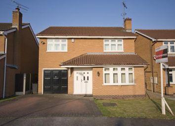 Thumbnail 4 bed detached house for sale in Hamilton Close, Toton, Nottingham