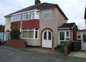 Thumbnail 3 bedroom semi-detached house for sale in Lindley Avenue, Tipton