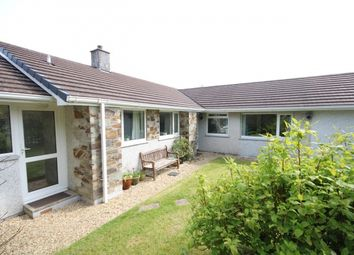 Thumbnail 4 bed bungalow for sale in Station Road, St. Mabyn, Bodmin