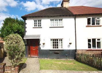 Thumbnail 3 bed semi-detached house for sale in Johnsdale, Oxted, Surrey