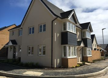 Thumbnail 3 bed semi-detached house for sale in Pintail Close, Bude, Cornwall