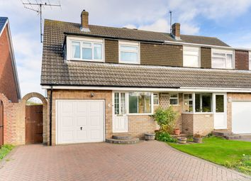 Thumbnail 3 bed semi-detached house for sale in Cherry Drive, Royston