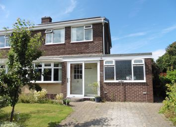 Thumbnail 3 bed semi-detached house to rent in Selkirk Way, North Shields