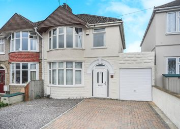Thumbnail 3 bedroom semi-detached house for sale in Moredon Road, Swindon