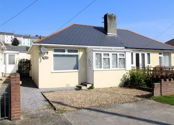 Thumbnail 1 bed semi-detached bungalow for sale in Laira Park Road, Plymouth
