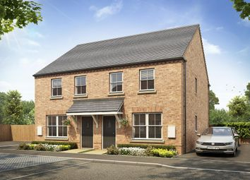 "Thumbnail 3 bedroom semi-detached house for sale in ""Selwood"" at Atherstone Road, Measham, Swadlincote"