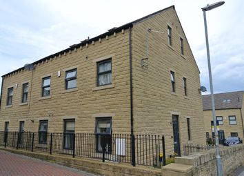 Thumbnail 3 bed town house to rent in Bradshaw Gardens, Honley, Holmfirth