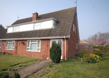 Thumbnail 3 bed semi-detached house to rent in Churchill Road, Thetford, Norfolk