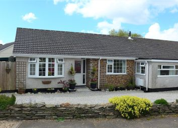 Thumbnail 3 bed semi-detached bungalow for sale in Vicarage Close, Menheniot, Liskeard