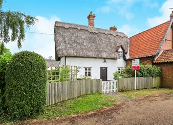 Thumbnail 3 bedroom cottage for sale in The Green, Tacolneston, Norwich