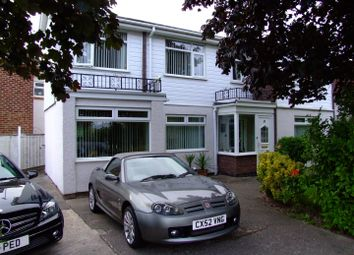 Thumbnail 3 bed detached house for sale in North Drive, Rhyl