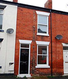 Thumbnail 3 bed terraced house to rent in St. Helens Street, Chesterfield