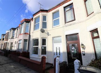 Thumbnail 3 bed terraced house to rent in Vicarage Grove, Wallasey