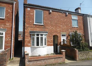 Thumbnail 3 bed semi-detached house for sale in Burns Street, Gainsborough