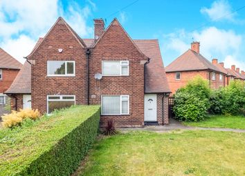 Thumbnail 2 bedroom semi-detached house for sale in Southwold Drive, Wollaton, Nottingham