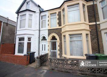 Thumbnail 6 bed terraced house for sale in Hazeldene Avenue, Roath, Cardiff