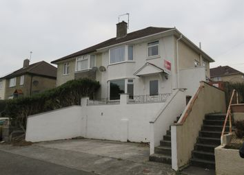 Thumbnail 3 bedroom semi-detached house for sale in Dorchester Avenue, Whitleigh, Plymouth